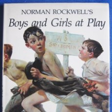 Libros antiguos: NORMAN ROCKWELL BOYS AND FRIENDS AT PLAY. GEORGE MENDOZA. Lote 56813337