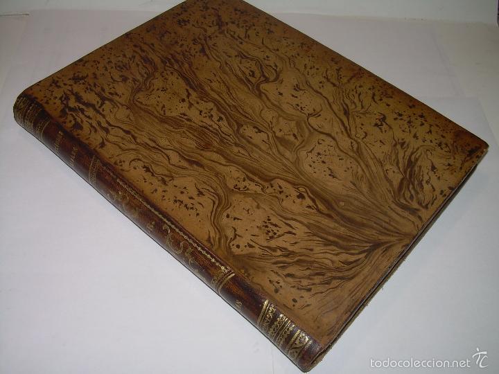 Libros antiguos: LIBRO TAPAS DE PIEL...APUNTES DE CONSTRUCCIONES INDUSTRIALES..AÑO. 1.885-86.....TODO GRABADOS. - Foto 4 - 56820390