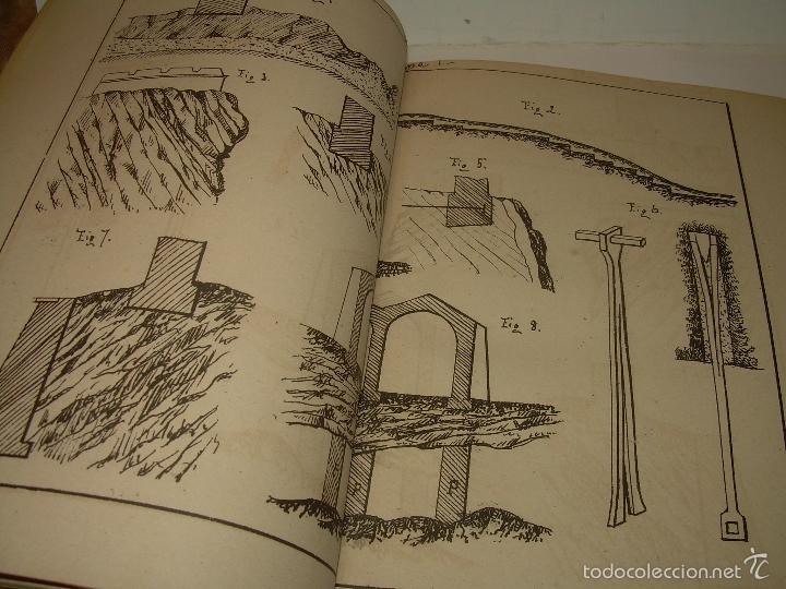 Libros antiguos: LIBRO TAPAS DE PIEL...APUNTES DE CONSTRUCCIONES INDUSTRIALES..AÑO. 1.885-86.....TODO GRABADOS. - Foto 9 - 56820390