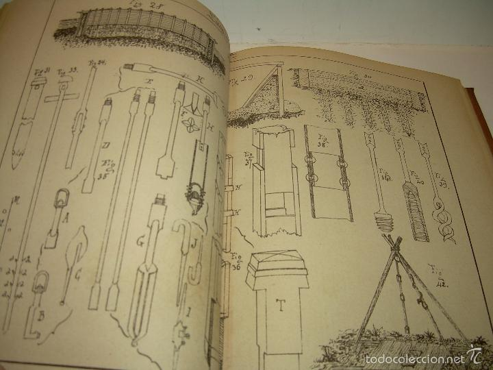 Libros antiguos: LIBRO TAPAS DE PIEL...APUNTES DE CONSTRUCCIONES INDUSTRIALES..AÑO. 1.885-86.....TODO GRABADOS. - Foto 10 - 56820390