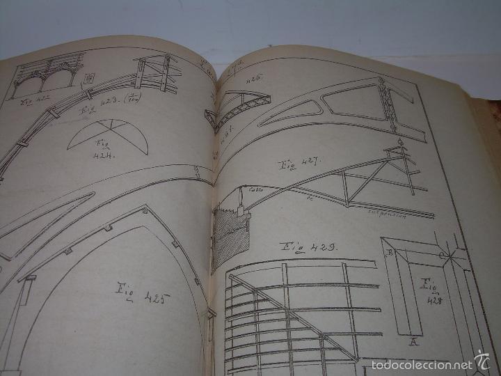 Libros antiguos: LIBRO TAPAS DE PIEL...APUNTES DE CONSTRUCCIONES INDUSTRIALES..AÑO. 1.885-86.....TODO GRABADOS. - Foto 13 - 56820390