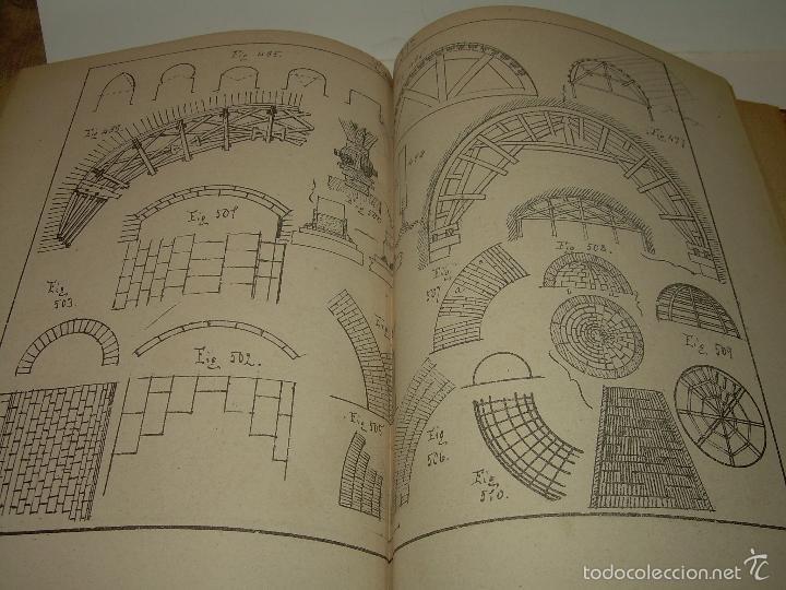 Libros antiguos: LIBRO TAPAS DE PIEL...APUNTES DE CONSTRUCCIONES INDUSTRIALES..AÑO. 1.885-86.....TODO GRABADOS. - Foto 14 - 56820390