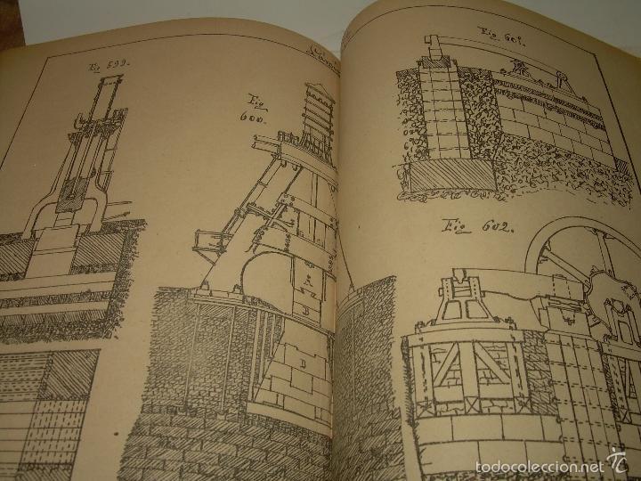 Libros antiguos: LIBRO TAPAS DE PIEL...APUNTES DE CONSTRUCCIONES INDUSTRIALES..AÑO. 1.885-86.....TODO GRABADOS. - Foto 15 - 56820390