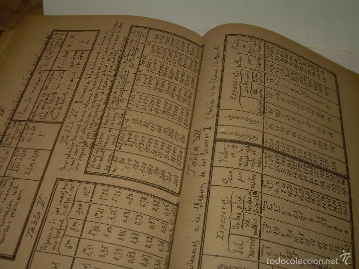 Libros antiguos: LIBRO TAPAS DE PIEL...APUNTES DE CONSTRUCCIONES INDUSTRIALES..AÑO. 1.885-86.....TODO GRABADOS. - Foto 18 - 56820390