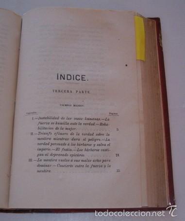 Libros antiguos: Pónos, cuento, fábula ó historia para los hombres chiquitos llamados niños. DOS TOMOS. RM74661. - Foto 3 - 56900423