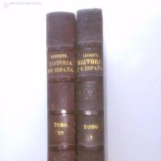 Libros antiguos: HISTORIA GENERAL DE ESPAÑA. MODESTO LAFUENTE. Lote 56907879