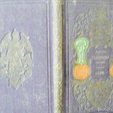 Libros antiguos: ALMANAQUE PARA TODOS 1860 AÑO 1 BARCELONA JUAN OLIVERES 1859 ILUSTRADO. Lote 56944553