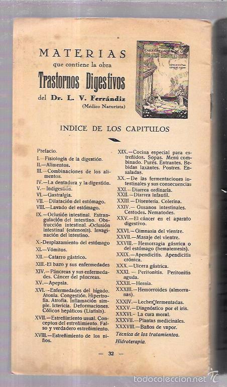 Libros antiguos: 12 COMIDAS PARA DIABÉTICOS. DR. V. L. FERRANDIZ. BARCELONA. 1932. ILUSTRADO. 32 PAGS. 24X13,4 CM. - Foto 3 - 56951990