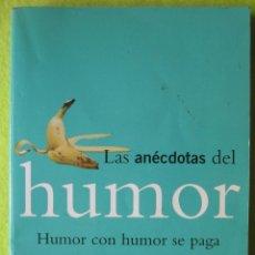 Libros antiguos: ANÉCDOTAS DEL HUMOR _ FERNANDO VIZCAÍNO CASAS. Lote 56954361