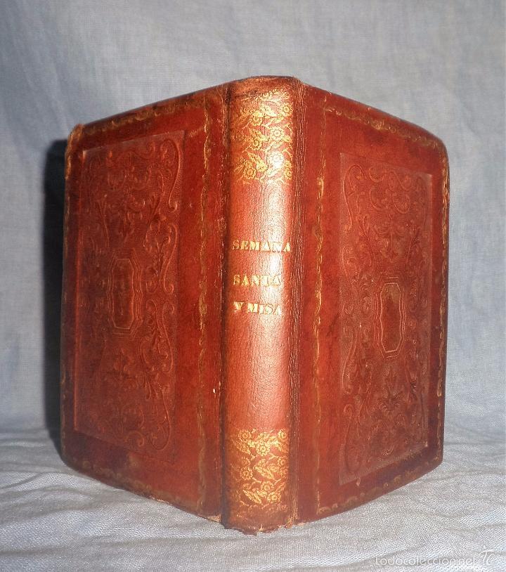 Libros antiguos: HISTORIA DE LA SEMANA SANTA - SEVILLA AÑO 1849 - BELLOS GRABADOS·MUY RARO. - Foto 2 - 56995561