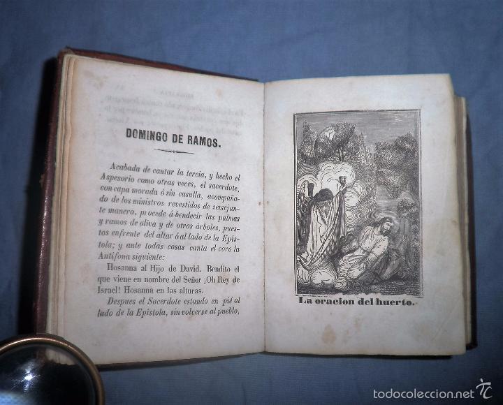 Libros antiguos: HISTORIA DE LA SEMANA SANTA - SEVILLA AÑO 1849 - BELLOS GRABADOS·MUY RARO. - Foto 6 - 56995561