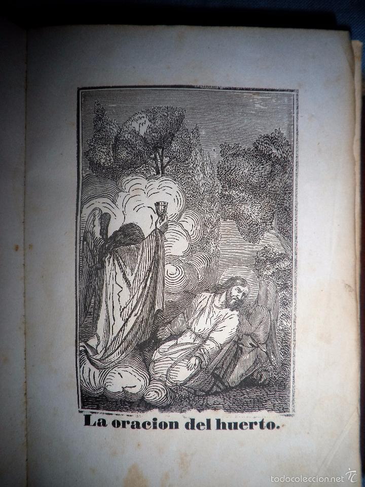 Libros antiguos: HISTORIA DE LA SEMANA SANTA - SEVILLA AÑO 1849 - BELLOS GRABADOS·MUY RARO. - Foto 7 - 56995561