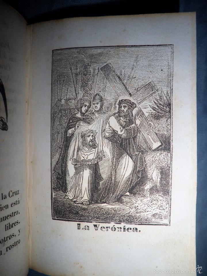 Libros antiguos: HISTORIA DE LA SEMANA SANTA - SEVILLA AÑO 1849 - BELLOS GRABADOS·MUY RARO. - Foto 8 - 56995561