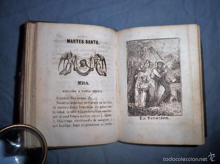 Libros antiguos: HISTORIA DE LA SEMANA SANTA - SEVILLA AÑO 1849 - BELLOS GRABADOS·MUY RARO. - Foto 9 - 56995561