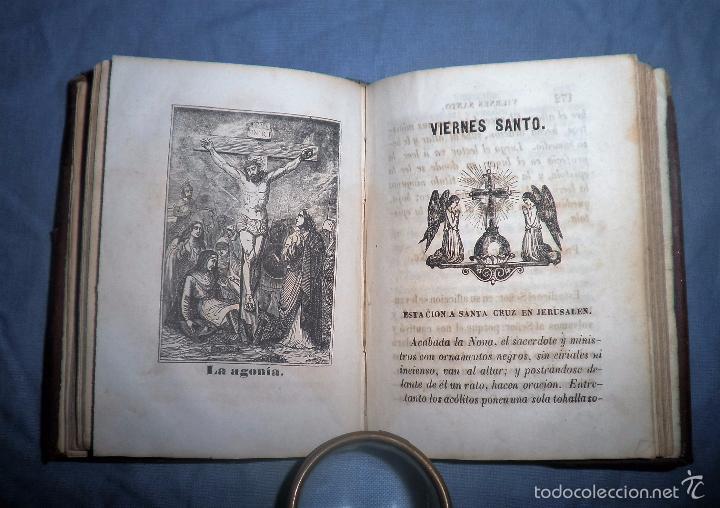 Libros antiguos: HISTORIA DE LA SEMANA SANTA - SEVILLA AÑO 1849 - BELLOS GRABADOS·MUY RARO. - Foto 10 - 56995561