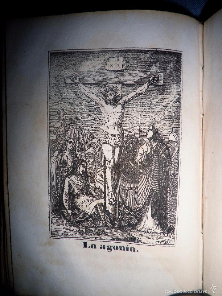 Libros antiguos: HISTORIA DE LA SEMANA SANTA - SEVILLA AÑO 1849 - BELLOS GRABADOS·MUY RARO. - Foto 11 - 56995561