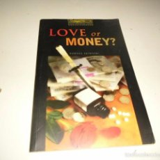 Libros antiguos: BAL- 30 LOVE OR MONEY?. Lote 57058099