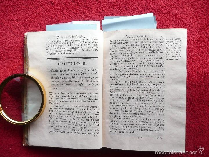 Libros antiguos: DEFENSA DE LA DECLARACION DE LA ASAMBLEA DEL CLERO DE FRANCIA. FCO. MARTINEZ MOLES. TOMO VI, 1771 - Foto 3 - 57073592
