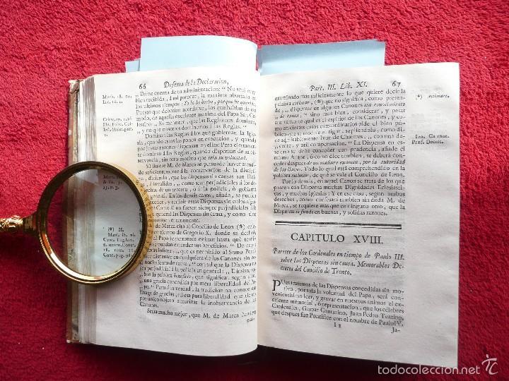 Libros antiguos: DEFENSA DE LA DECLARACION DE LA ASAMBLEA DEL CLERO DE FRANCIA. FCO. MARTINEZ MOLES. TOMO VI, 1771 - Foto 6 - 57073592
