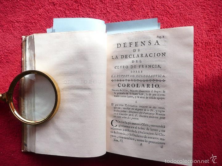 Libros antiguos: DEFENSA DE LA DECLARACION DE LA ASAMBLEA DEL CLERO DE FRANCIA. FCO. MARTINEZ MOLES. TOMO VI, 1771 - Foto 7 - 57073592