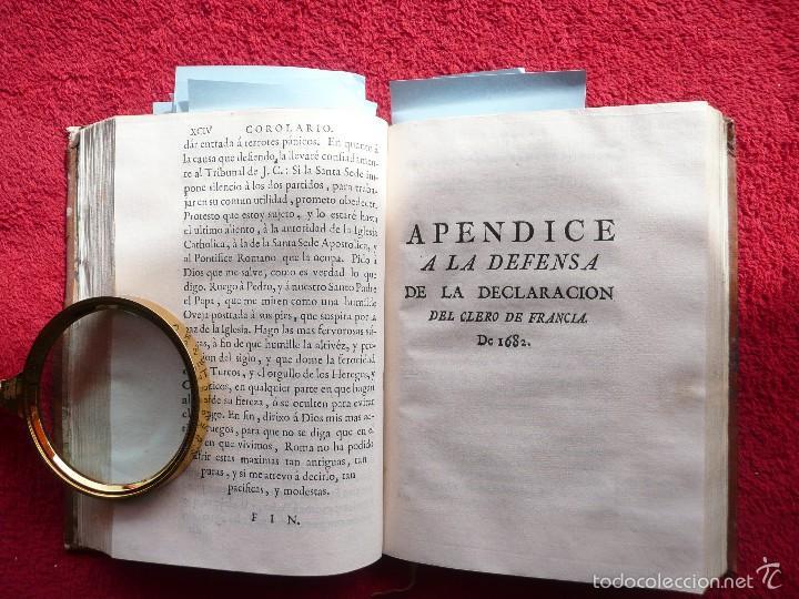 Libros antiguos: DEFENSA DE LA DECLARACION DE LA ASAMBLEA DEL CLERO DE FRANCIA. FCO. MARTINEZ MOLES. TOMO VI, 1771 - Foto 8 - 57073592