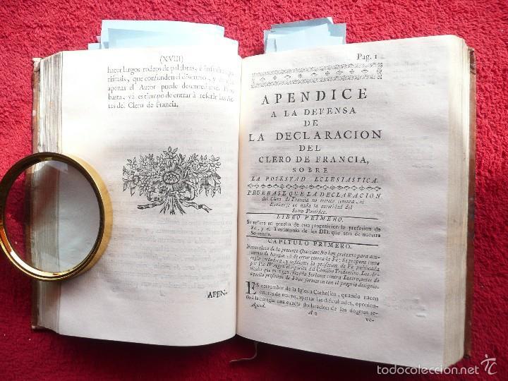 Libros antiguos: DEFENSA DE LA DECLARACION DE LA ASAMBLEA DEL CLERO DE FRANCIA. FCO. MARTINEZ MOLES. TOMO VI, 1771 - Foto 9 - 57073592