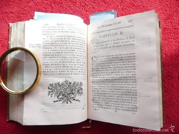 Libros antiguos: DEFENSA DE LA DECLARACION DE LA ASAMBLEA DEL CLERO DE FRANCIA. FCO. MARTINEZ MOLES. TOMO VI, 1771 - Foto 10 - 57073592