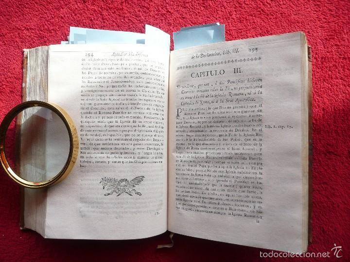 Libros antiguos: DEFENSA DE LA DECLARACION DE LA ASAMBLEA DEL CLERO DE FRANCIA. FCO. MARTINEZ MOLES. TOMO VI, 1771 - Foto 11 - 57073592