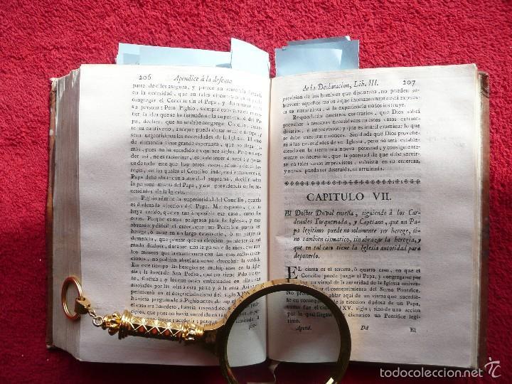 Libros antiguos: DEFENSA DE LA DECLARACION DE LA ASAMBLEA DEL CLERO DE FRANCIA. FCO. MARTINEZ MOLES. TOMO VI, 1771 - Foto 12 - 57073592