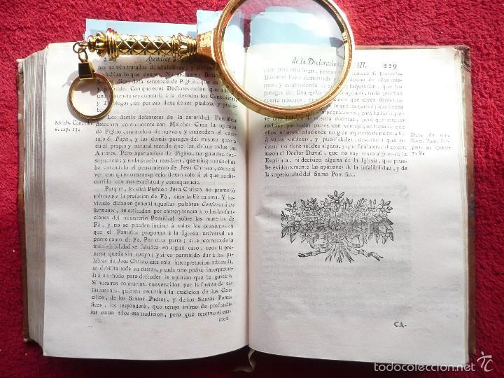 Libros antiguos: DEFENSA DE LA DECLARACION DE LA ASAMBLEA DEL CLERO DE FRANCIA. FCO. MARTINEZ MOLES. TOMO VI, 1771 - Foto 14 - 57073592