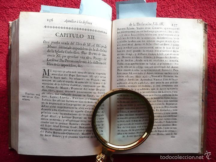 Libros antiguos: DEFENSA DE LA DECLARACION DE LA ASAMBLEA DEL CLERO DE FRANCIA. FCO. MARTINEZ MOLES. TOMO VI, 1771 - Foto 15 - 57073592