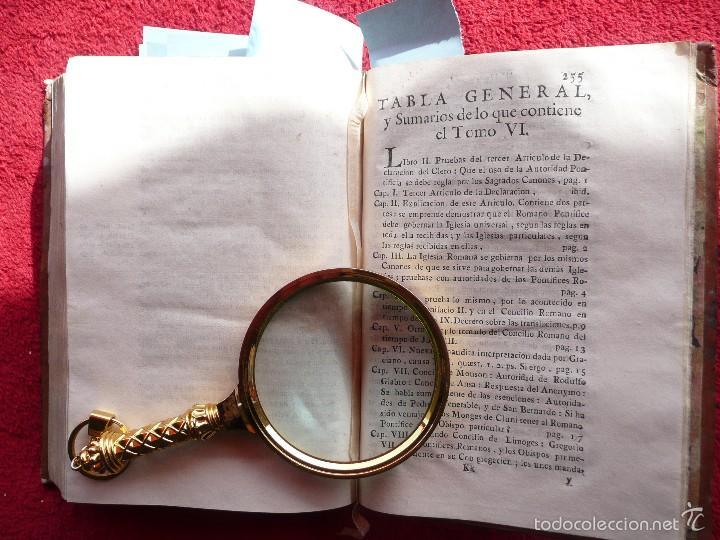 Libros antiguos: DEFENSA DE LA DECLARACION DE LA ASAMBLEA DEL CLERO DE FRANCIA. FCO. MARTINEZ MOLES. TOMO VI, 1771 - Foto 16 - 57073592