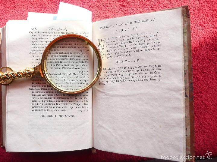 Libros antiguos: DEFENSA DE LA DECLARACION DE LA ASAMBLEA DEL CLERO DE FRANCIA. FCO. MARTINEZ MOLES. TOMO VI, 1771 - Foto 17 - 57073592