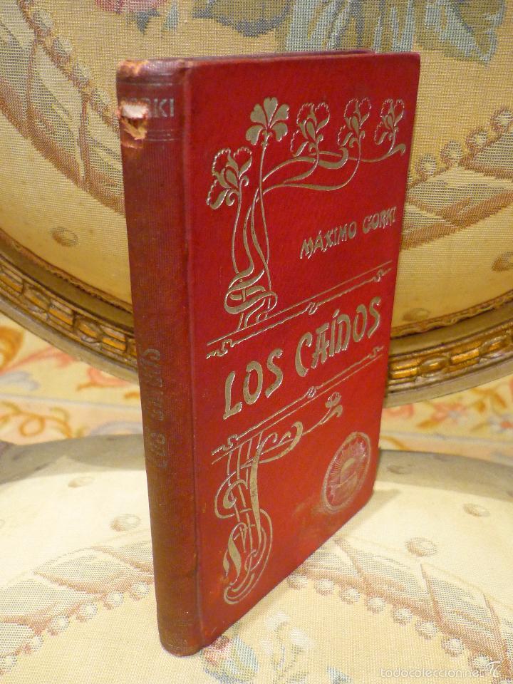 Libros antiguos: LOS CAÍDOS, DE MÁXIMO GORKI. - Foto 3 - 57074600