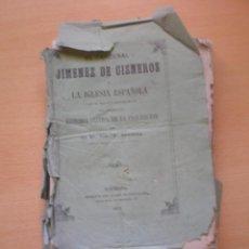 Libros antiguos: LIBRO ANTIGUO, HISTORIA CRITICA DE LA INQUISICION, 1871. Lote 57075096