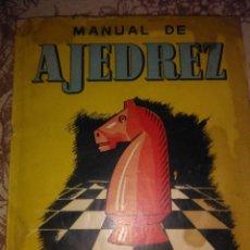 Libri antichi: MANUAL DE AJEDREZ. Lote 57080842