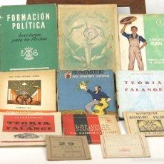 Libros antiguos: 7573 - COLECCIÓN DE PUBLICACIONES NACIONALISTAS ESPAÑOLAS. (VER DESCRIP). 1939-1956.. Lote 57102830