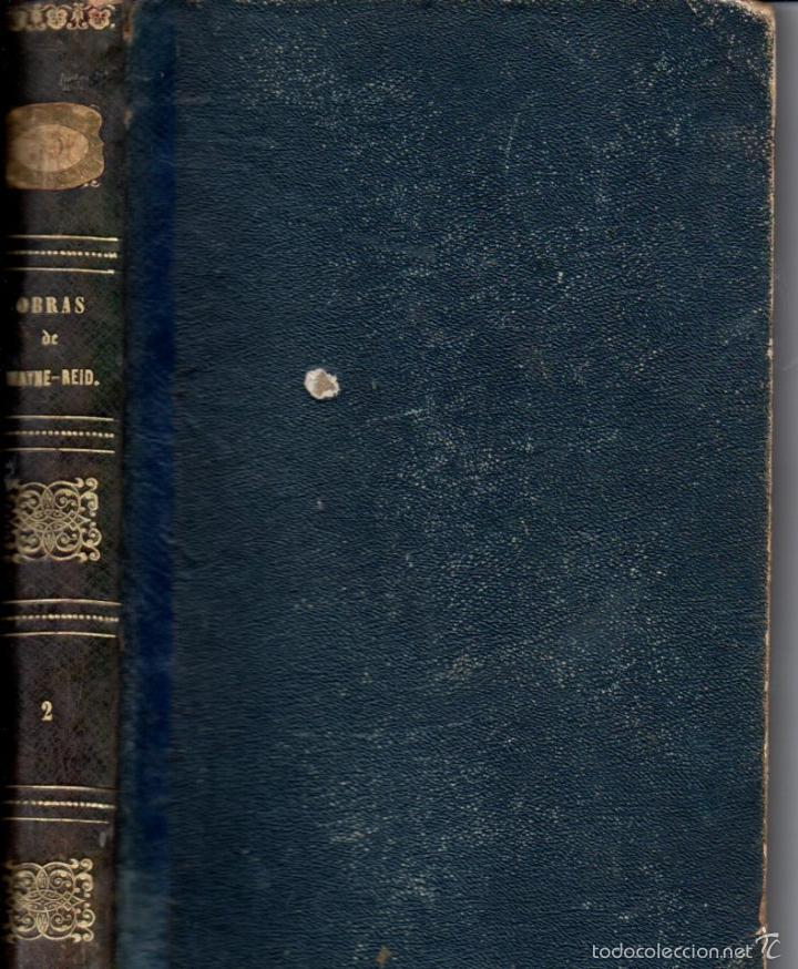 OCHO NOVELAS DE MAYNE REID PRIMERA EDICIÓN (GASPAR Y ROIG, 1870-1872) - NUMEROSOS GRABADOS (Libros antiguos (hasta 1936), raros y curiosos - Literatura - Narrativa - Otros)