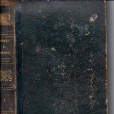 Libros antiguos: JULIO VERNE : VIAJE AL CENTRO DE LA TIERRA Y OTRAS OBRAS (GASPAR Y ROIG, 1868) - NUMEROSOS GRABADOS. Lote 57106469