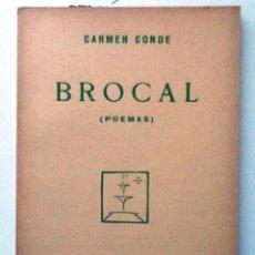 Libros antiguos: BROCAL. 1929. CARMEN CONDE CUADERNOS LITERARIOS Nº 25. INTONSO. Lote 137157876