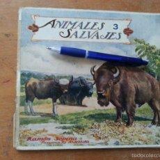 Libros antiguos: EL REINO ANIMAL PARA NIÑOS, ANIMALES SALVAJES , RAMON SOPENA . . Lote 57255719