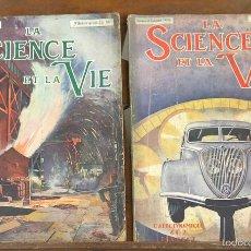Libros antiguos: 7590 - LA SCIENCE ET LA VIE. 11 EJEMPLARES. (VER DESCRIP). VV. AA. 1916-1935.. Lote 57257839