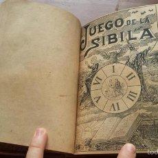 Libros antiguos: 1903 JOSE OSES LARUMBE, EL ARTE DE ENAMORAR + 1890 GITANA AZUCENA, EL LIBRO DE LAS ADIVINANZAS. Lote 57261879