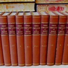 Libros antiguos: OBRES COMPLETES . 12 VOLS. . AUTOR : OLLER, NARCÍS . Lote 57267391