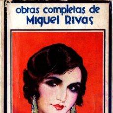 Libros antiguos: MIGUEL RIVAS : SAFO INMORTAL (MUNDIAL, 1930). Lote 57324500