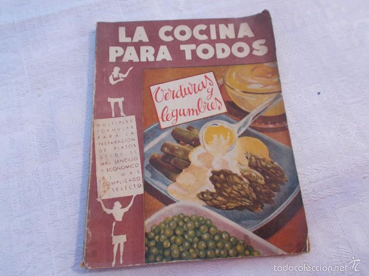 la cocina para todos verduras y legumbres comprar libros