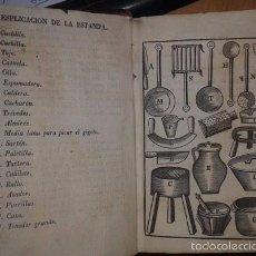 Libros antiguos: ARTE DE COCINA, PASTELERIA, VIZCOCHERIA Y CONSERVERIA [MARTÍNEZ MONTIÑO, FRANCISCO]. Lote 57341492