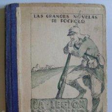 Libros antiguos: LA LEGION DEL DIABLO,POR EL CAPITAN SPANIARD-1934-. Lote 57347278