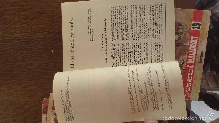 Libros antiguos: novelas del oeste - Foto 5 - 57396207