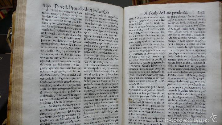 Libros antiguos: ILUSTRACION A LOS QUATRO PROCESSOS FORALES DE ARAGON. JUAN ANTONIO LA RIPA. 1764. - Foto 6 - 57437856